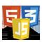 html 5, css 3, JS development